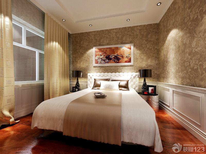 15平米卧室欧式壁纸装修效果图