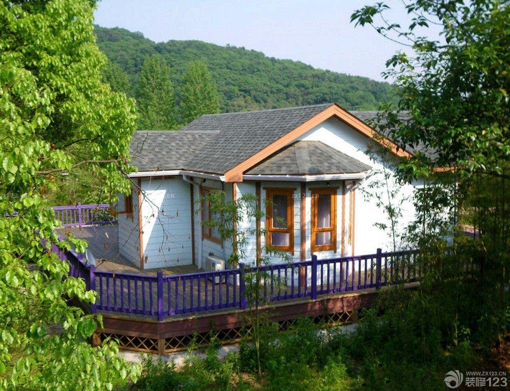 北欧风格别墅整体小木屋图片大全