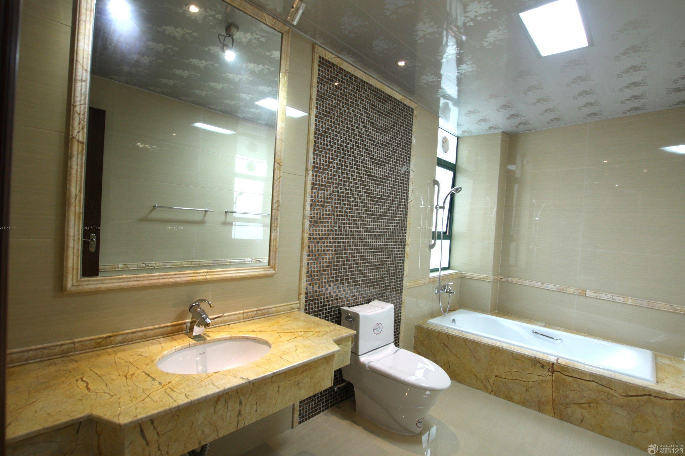 180平米現代歐式風格衛生間墻磚裝修圖片大全