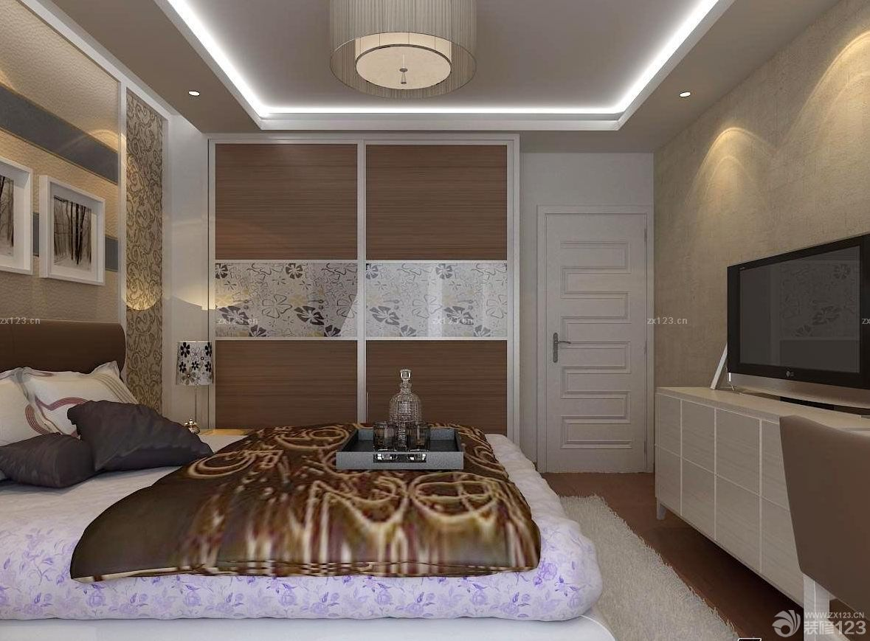 最新三居室主卧室衣柜效果图片