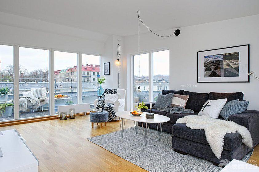 456 Sofas grises decoracion