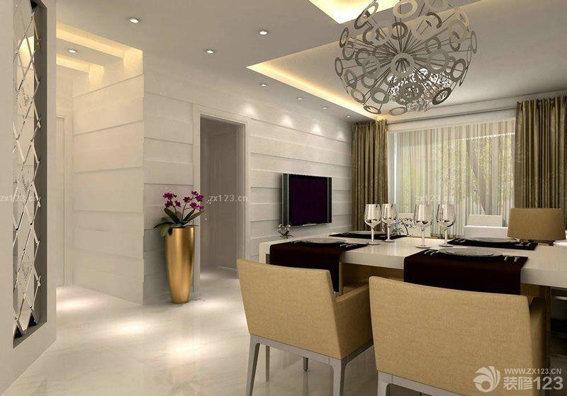 40平米一室一厅小户型新中式餐桌效果图片大全 设计456装修效果图