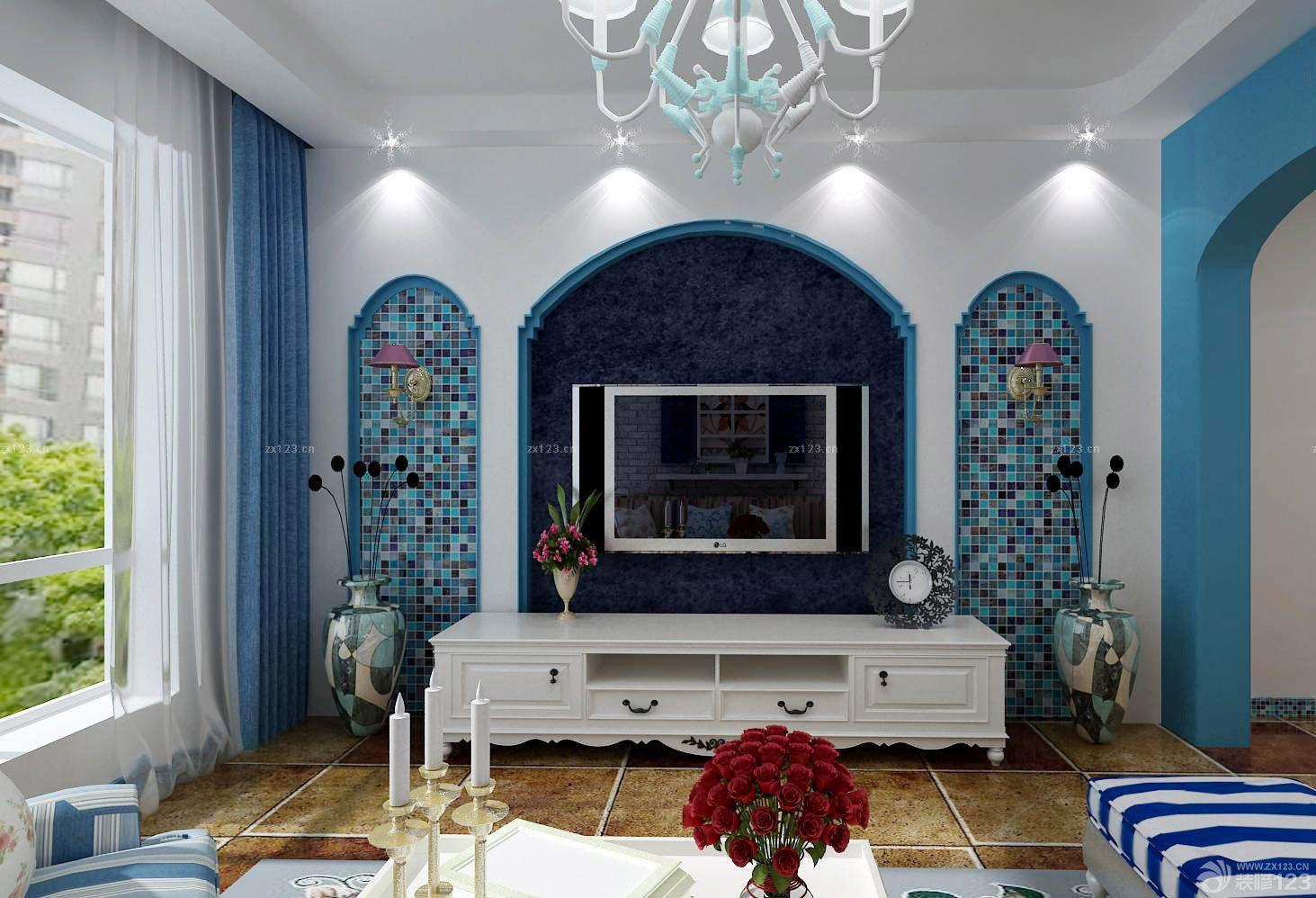 简欧风格小户型一室一厅卧室装修图片欣赏