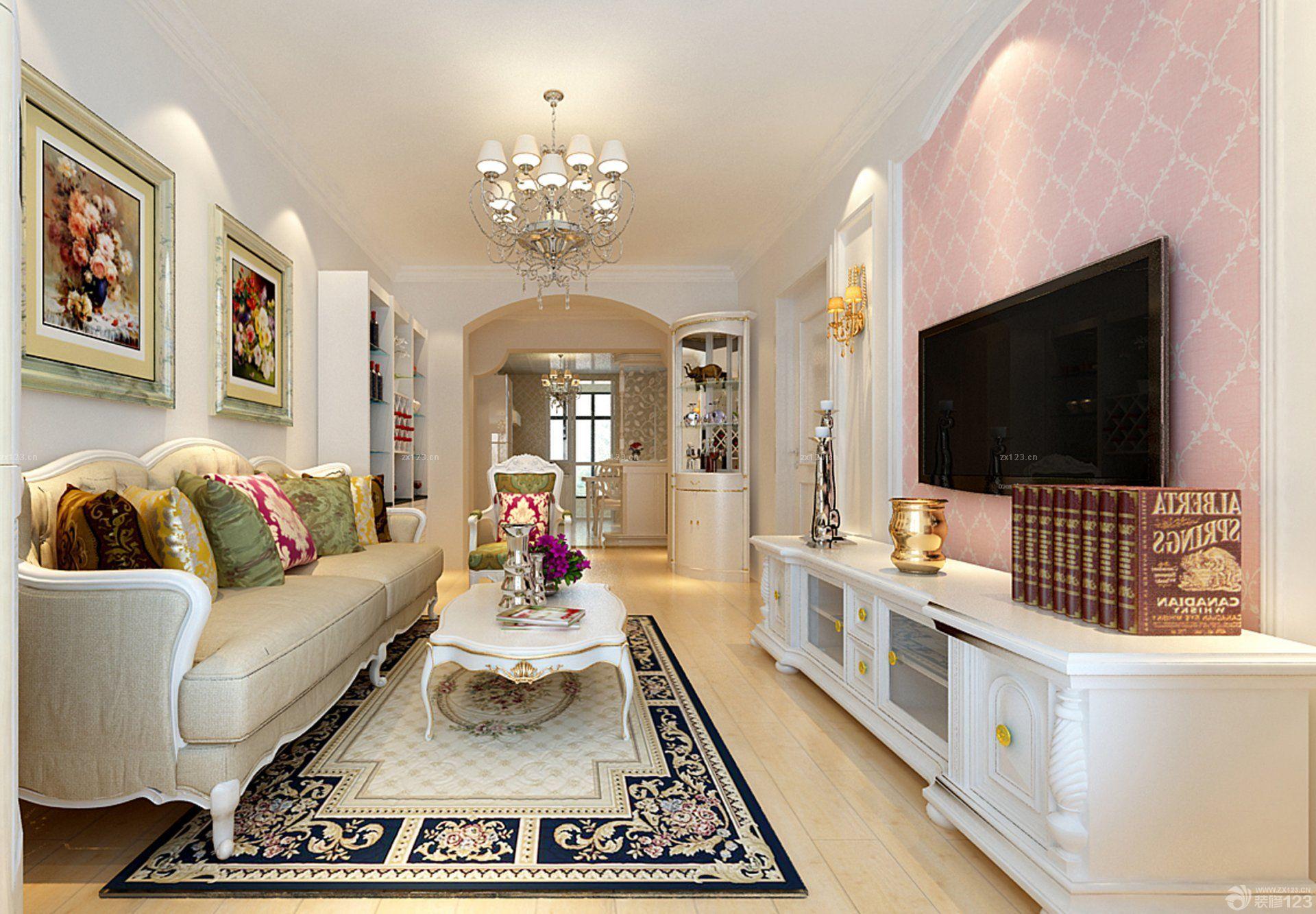 简欧客厅铺什么颜色的木地板好看