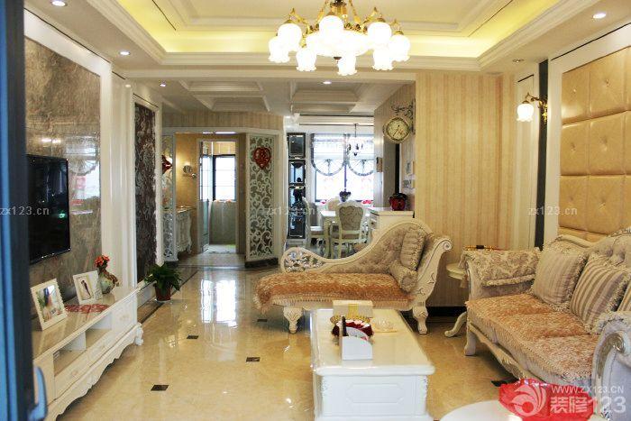 2016二室一厅小户型简欧风格过道装修效果图欣赏