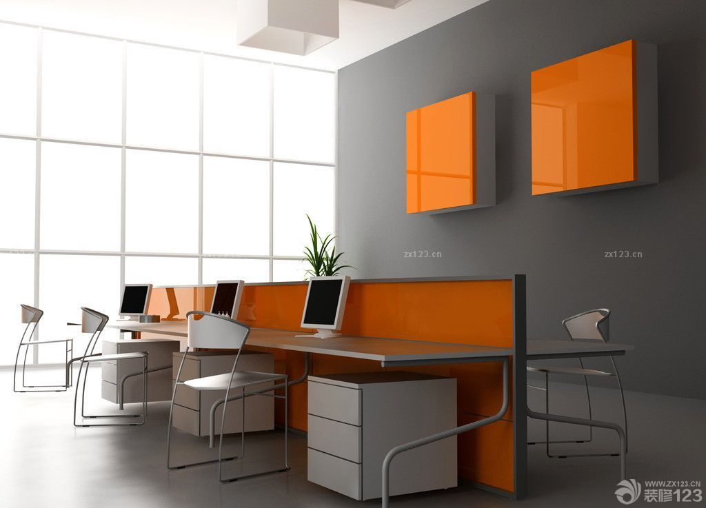 456 for Simple office design