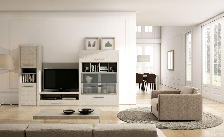 经典现代风格电视柜背景墙设计案例大全