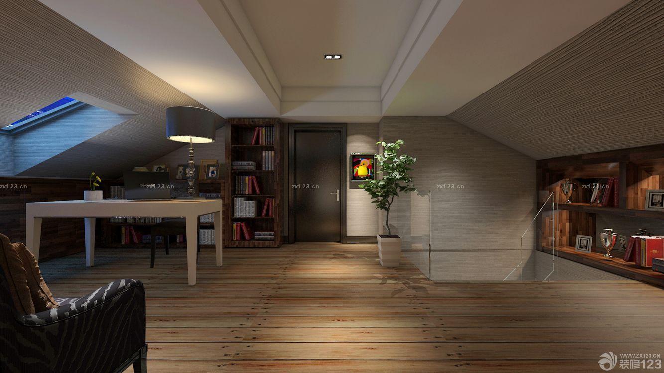 新房阁楼装修样板间图片欣赏