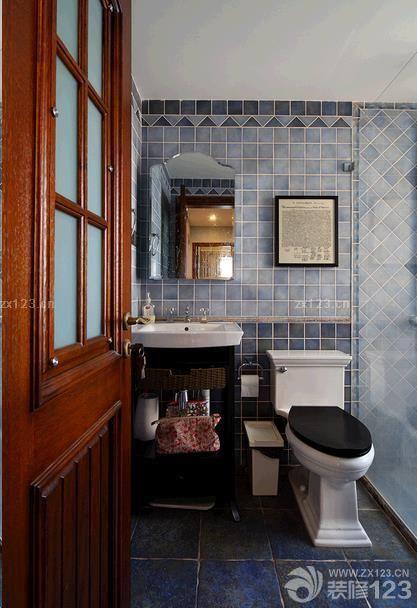 美式新古典风格家庭卫生间设计图_v风格网上教平面设计软件下载图片