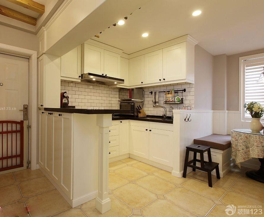 小户型新房阳台改厨房装修案例