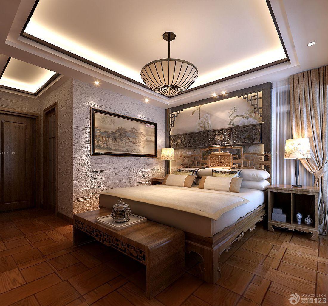 大卧室东南亚床头柜装修图片