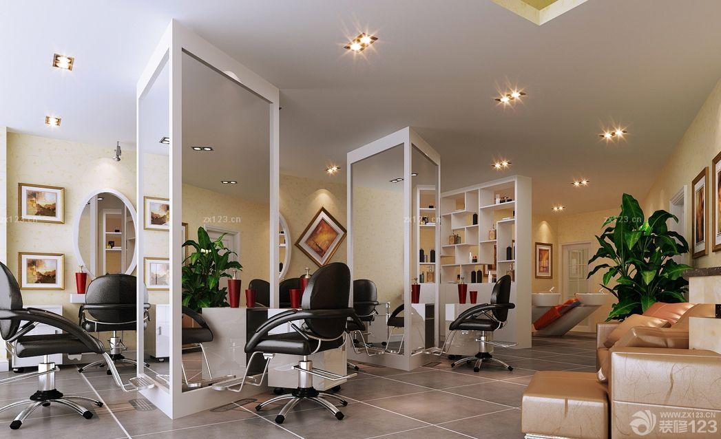 2016最新现代风格50平米美发店装修案例