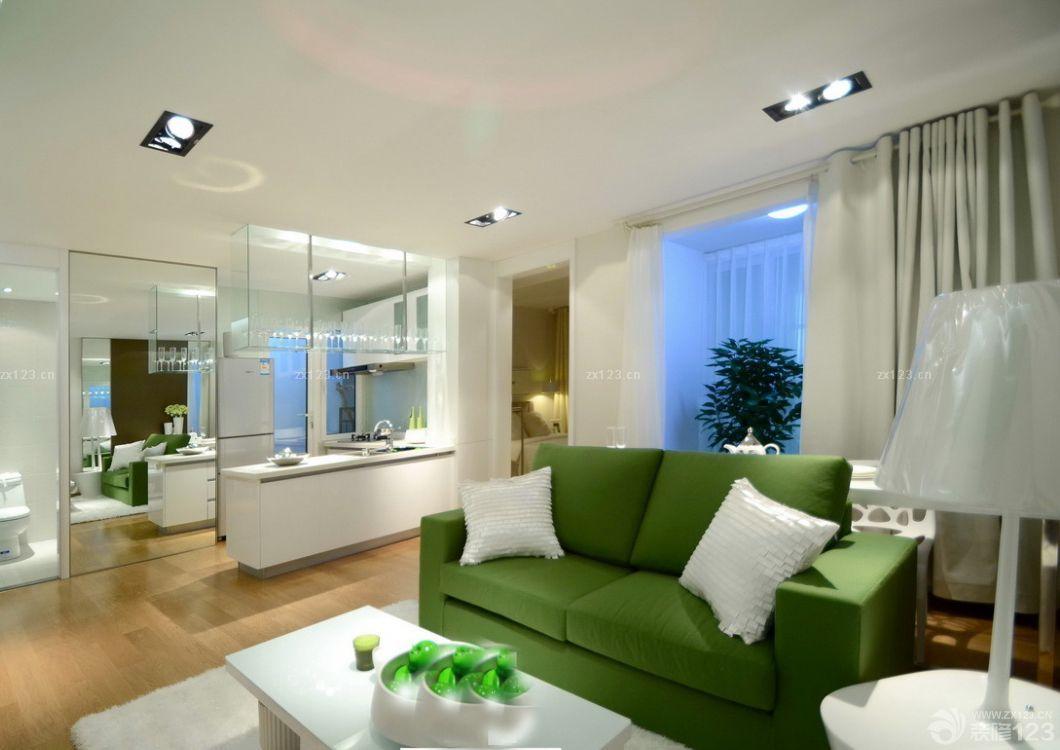 60平米小户型厨房客厅隔断设计图片大全