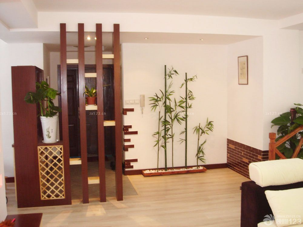 装修效果图 家居设计 地中海风格电视背景墙仿古砖墙面设计图