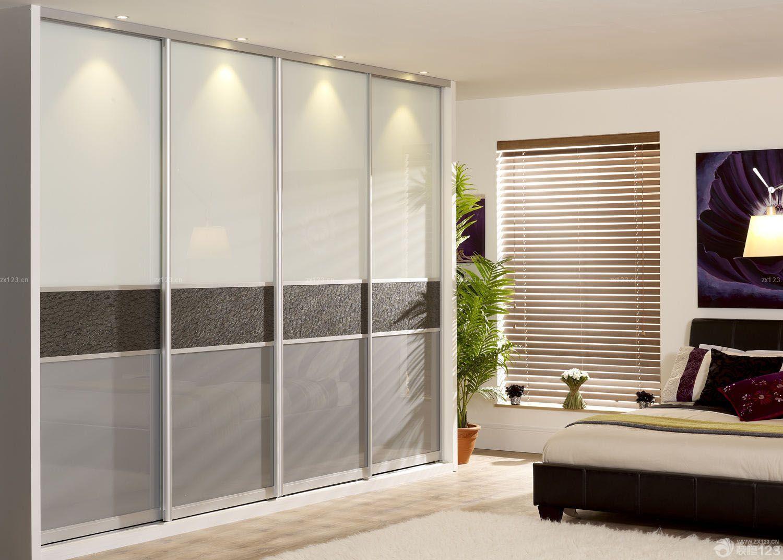 小户型创意家居衣柜玻璃门效果图片大全_2016室内装修