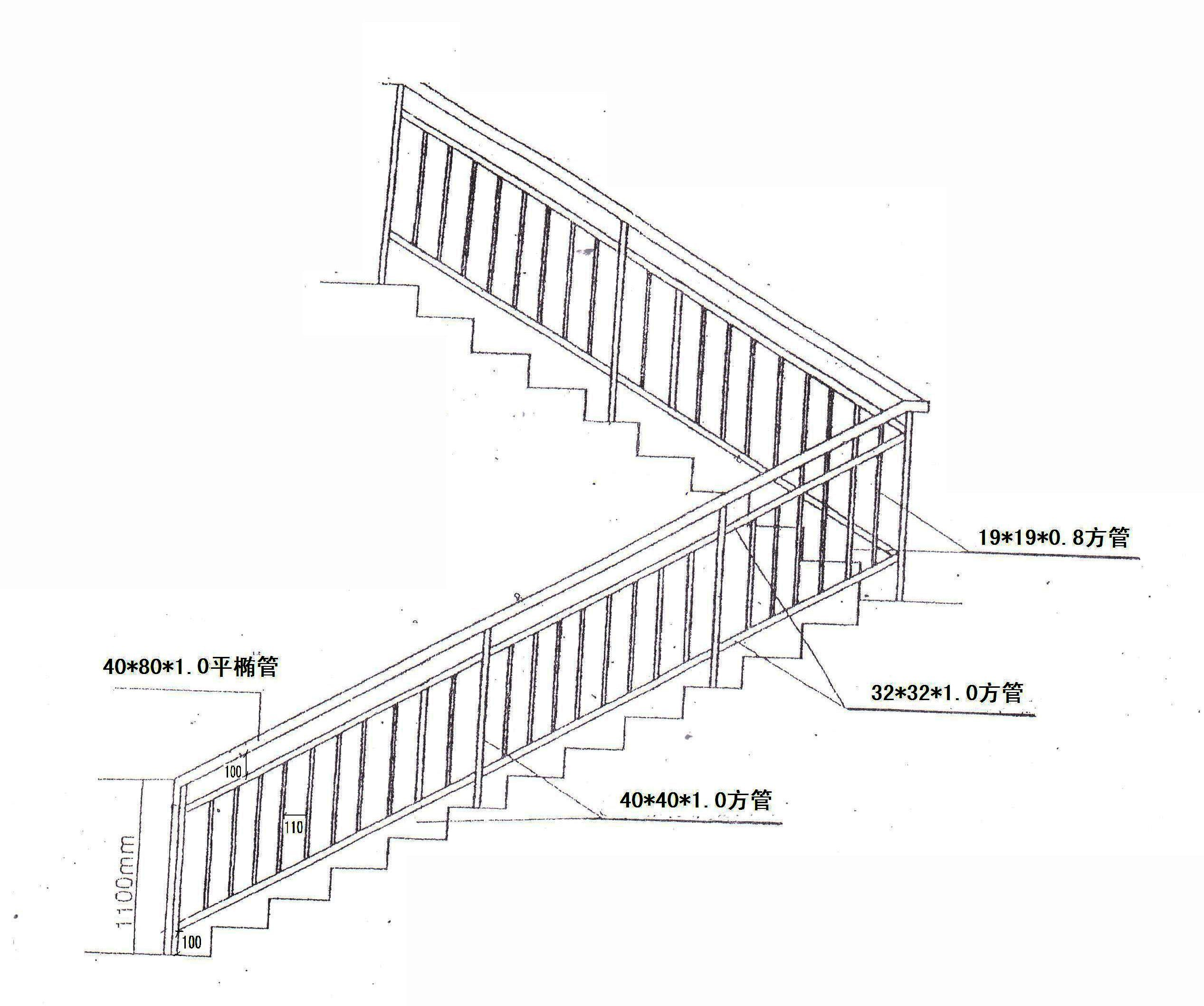 混凝土旋转楼梯平面图_平面设计图
