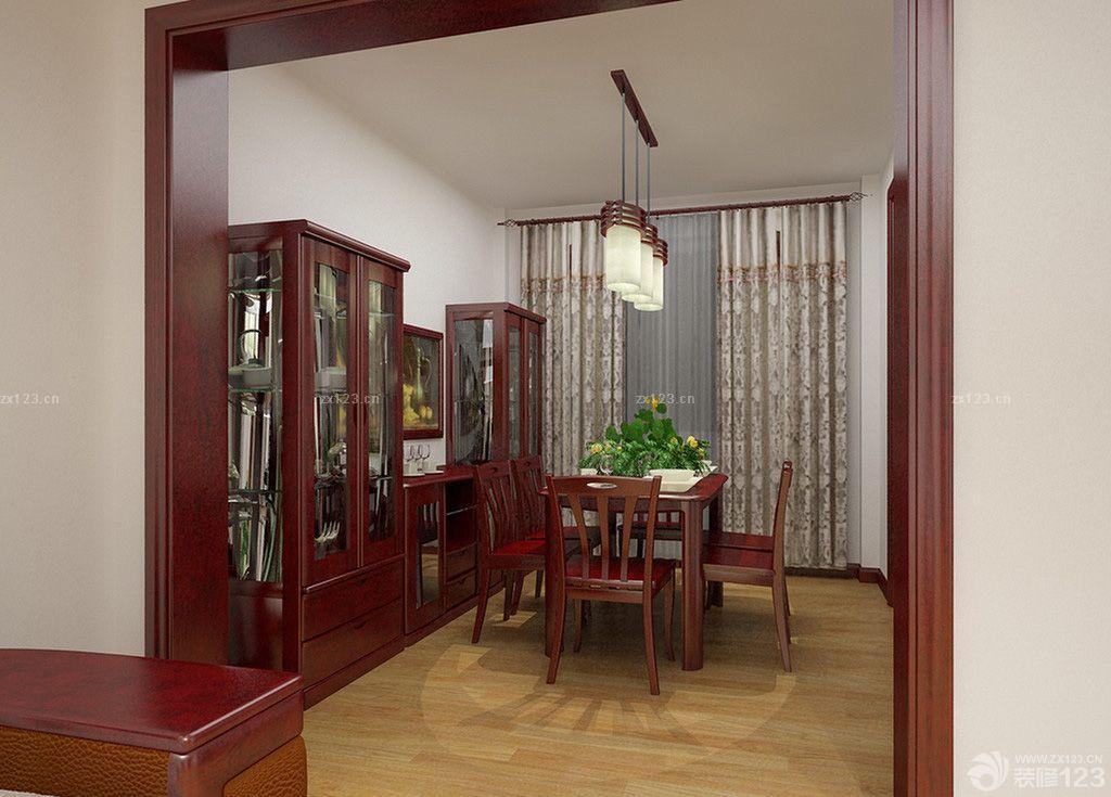 最新家装双叶实木家具设计效果图