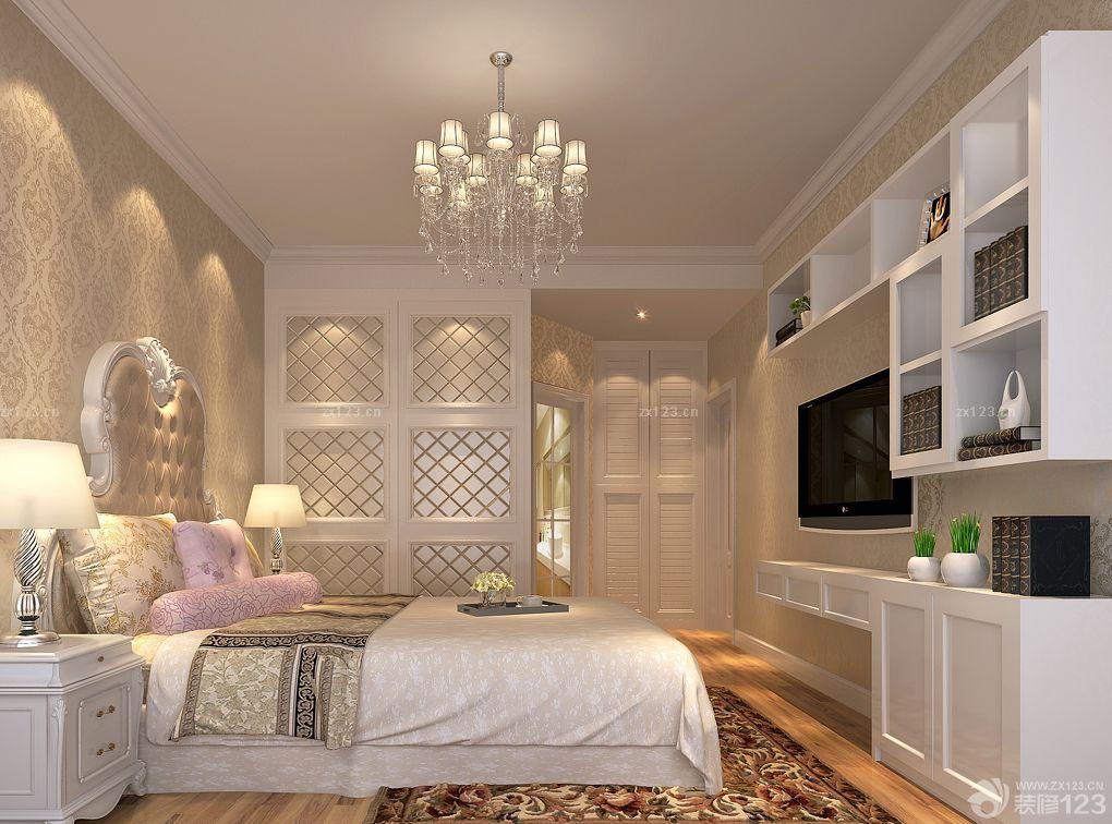 家裝臥室多功能組合柜子裝修案例_2016室內裝修效果圖