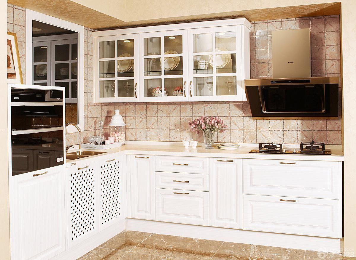 农村厨房欧派整体橱柜设计图
