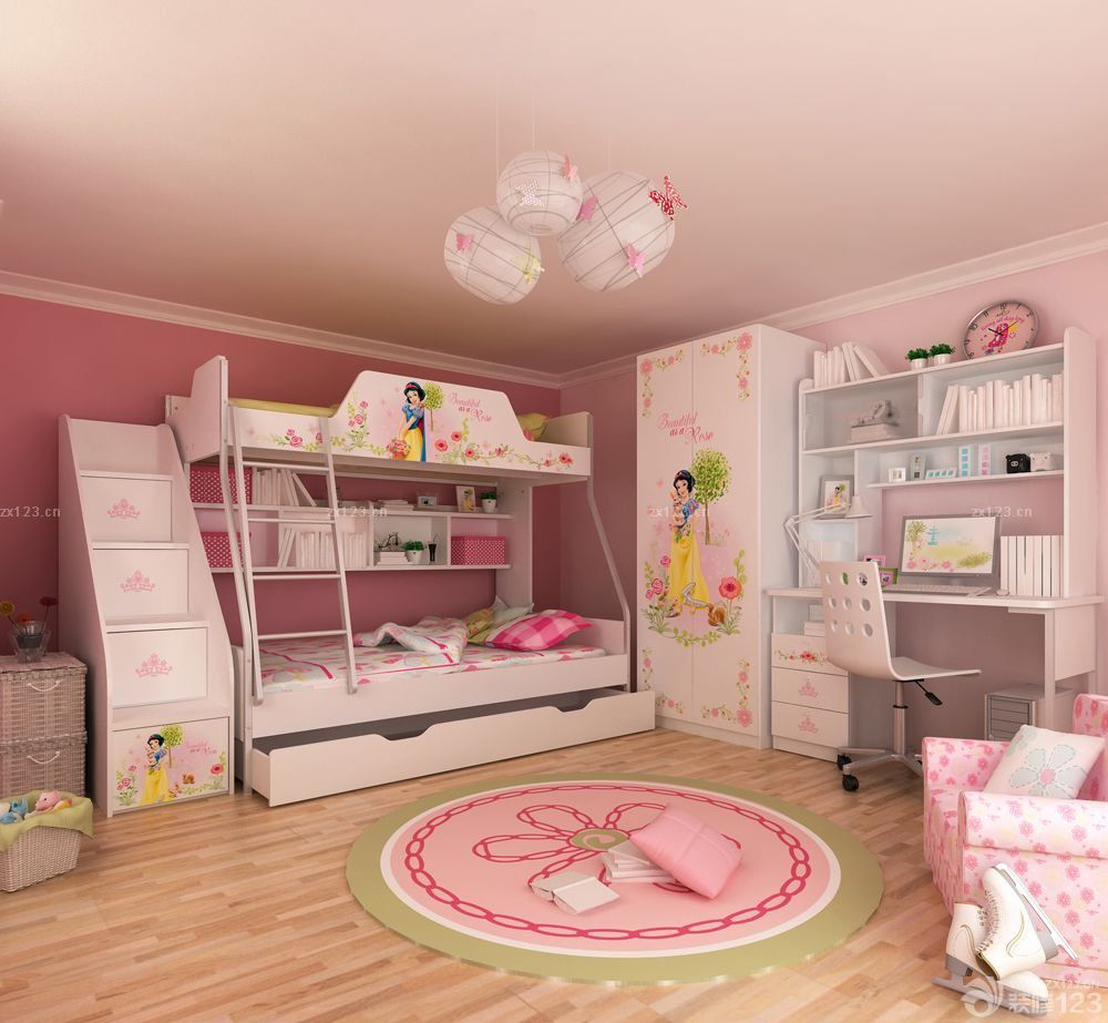 最新母子高低床装修设计图片大全