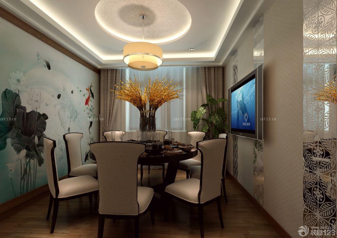 新中式风格办公室窗帘装修效果图片大全