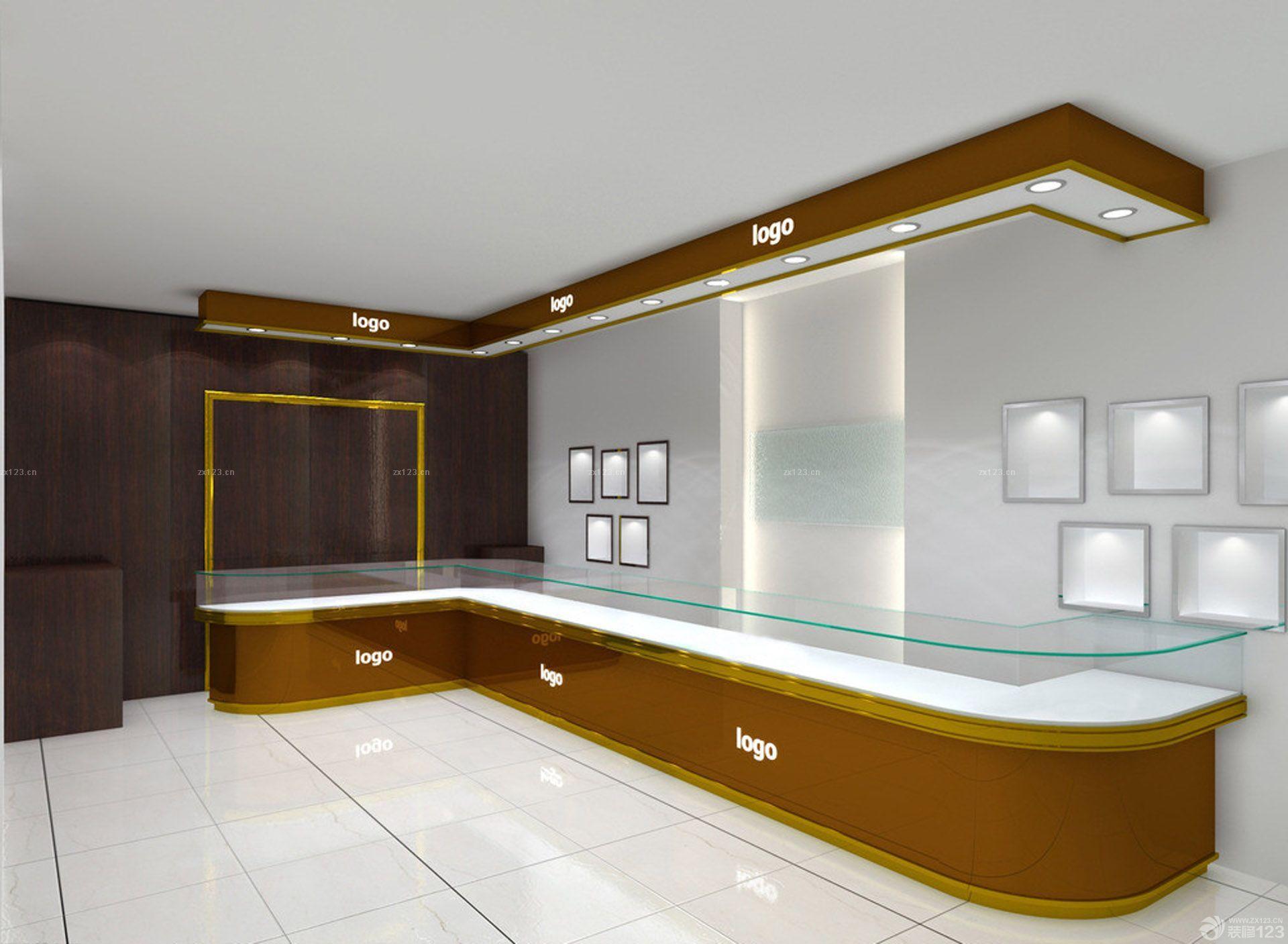 2016珠宝柜台店室内设计效果图
