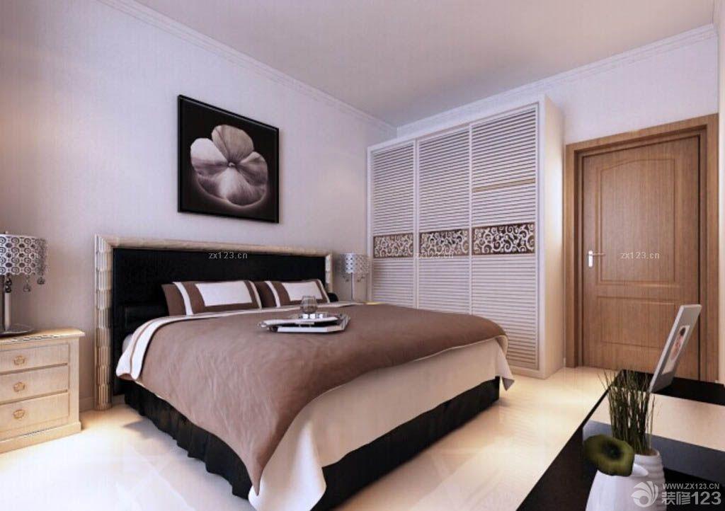 卧室3d木门装修实景图