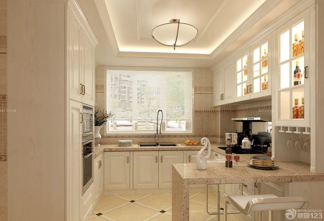 廚房酒柜造型設計效果圖