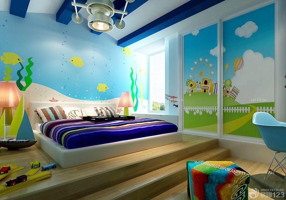 儿童房设计效果图 儿童房设计图片