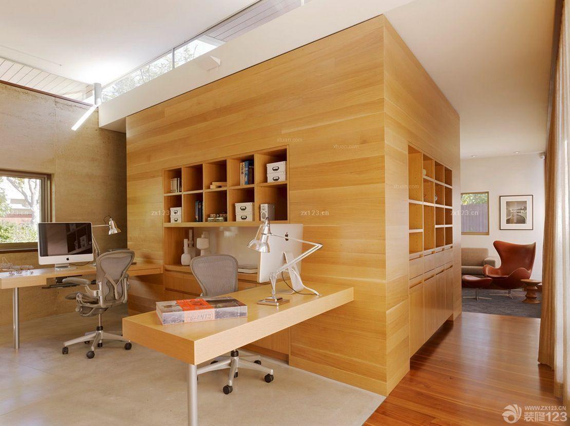 发廊装修设计镂空雕花隔断效果图片欣赏