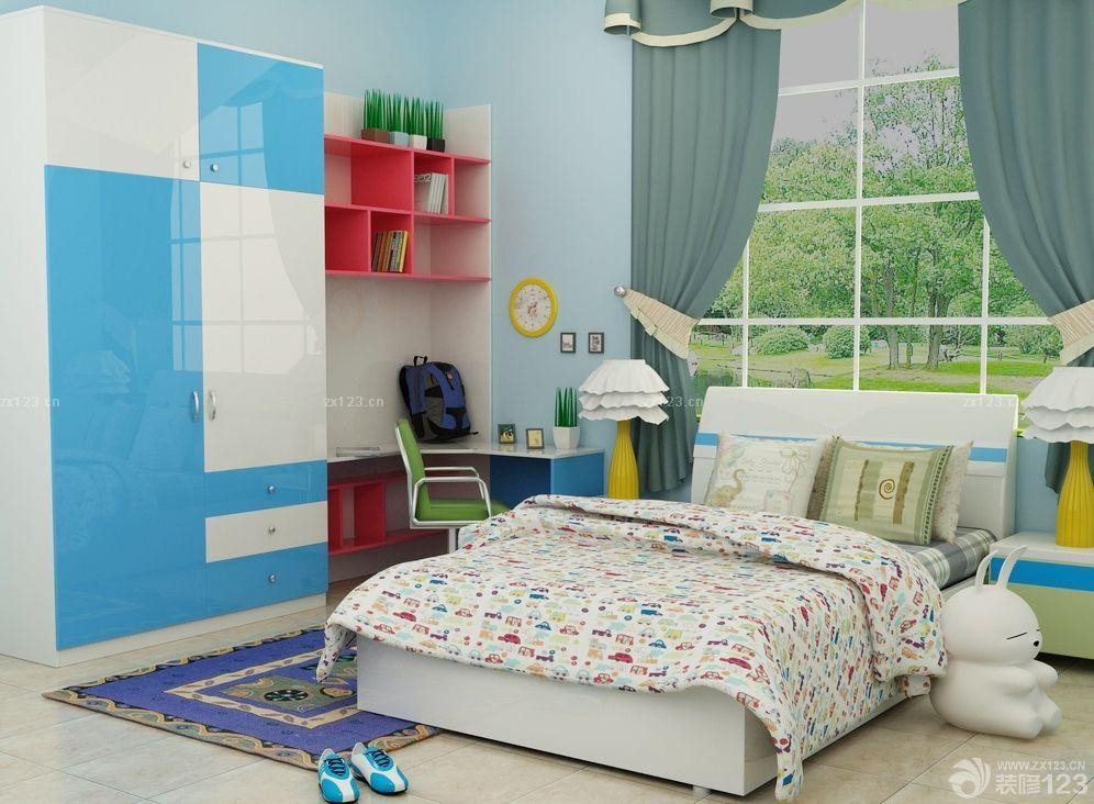 最新现代风格10平米儿童房衣柜设计效果图大全