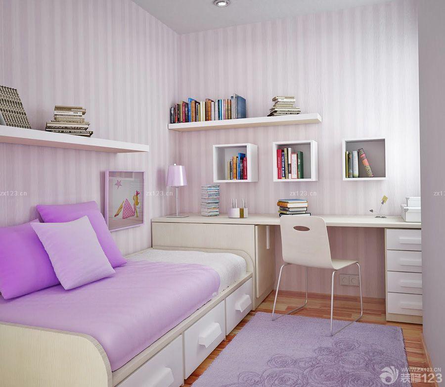 一室一厅一厨一卫小户型客厅壁纸装修效果图欣赏