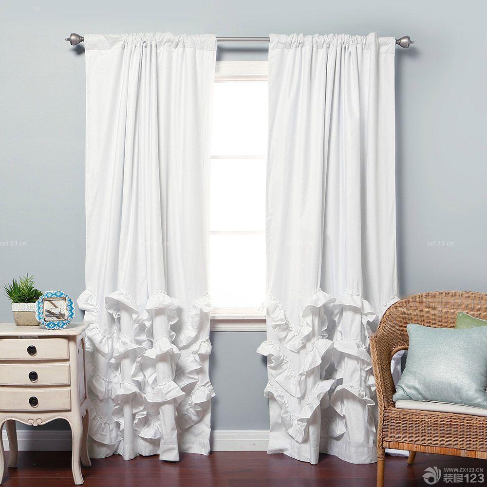2016最新家装客厅欧式短帘设计样板大全