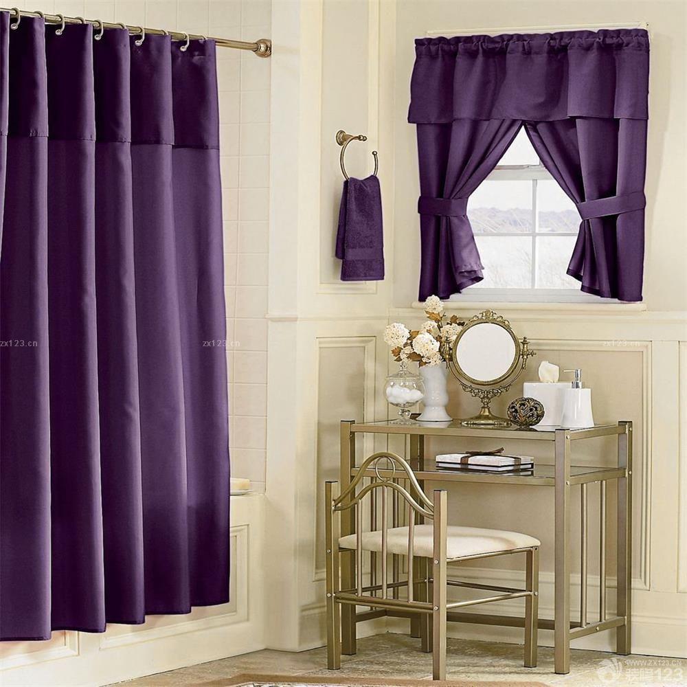 卧室欧式短帘设计效果图欣赏