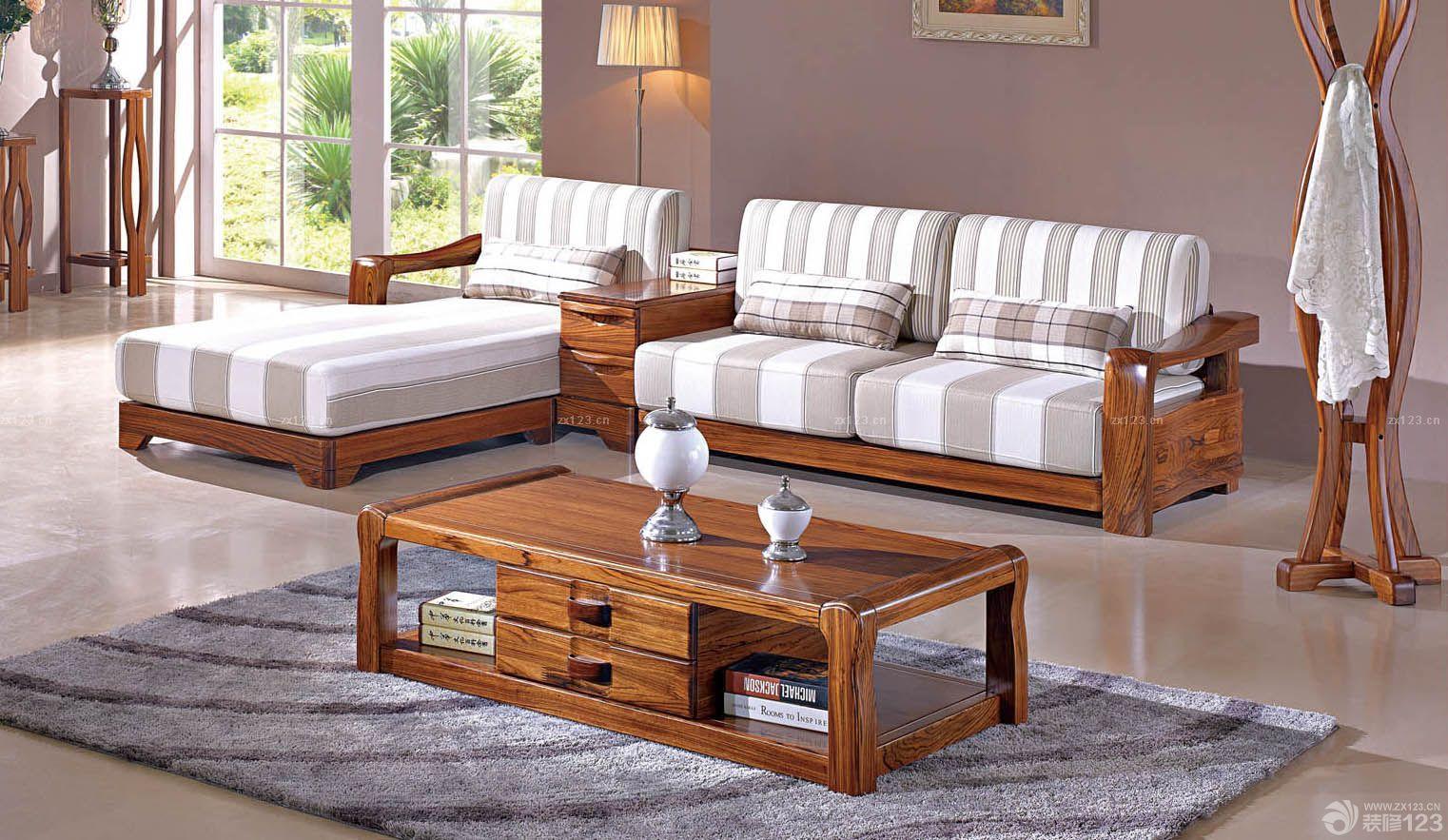 极简家装客厅乌金木家具设计图片欣赏