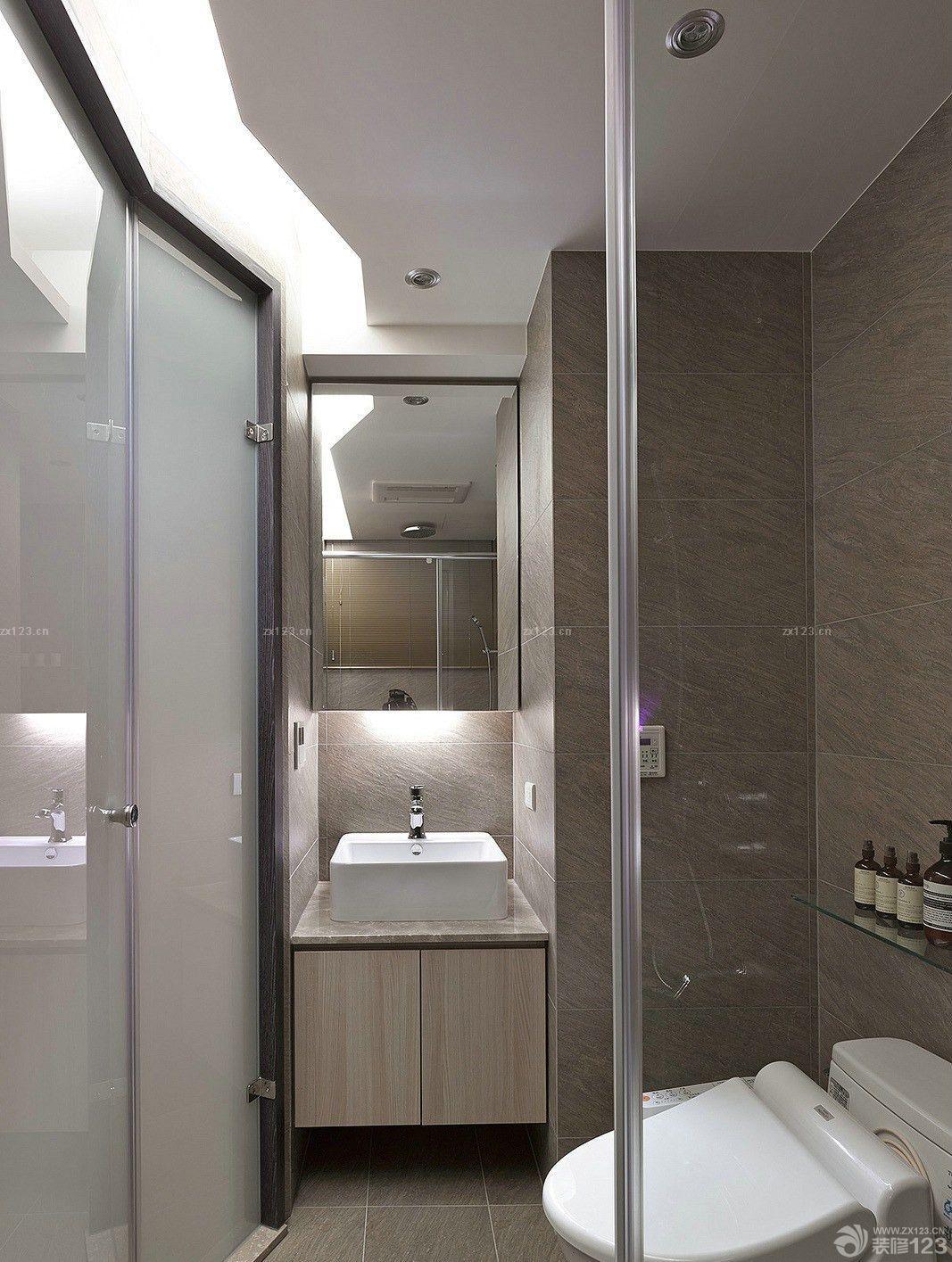酒店式公寓厕所装修效果图 设计456装修效果图