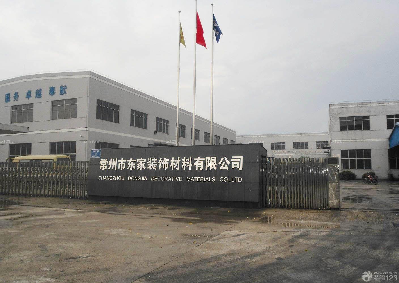 工厂不锈钢自动大门装修效果图片欣赏