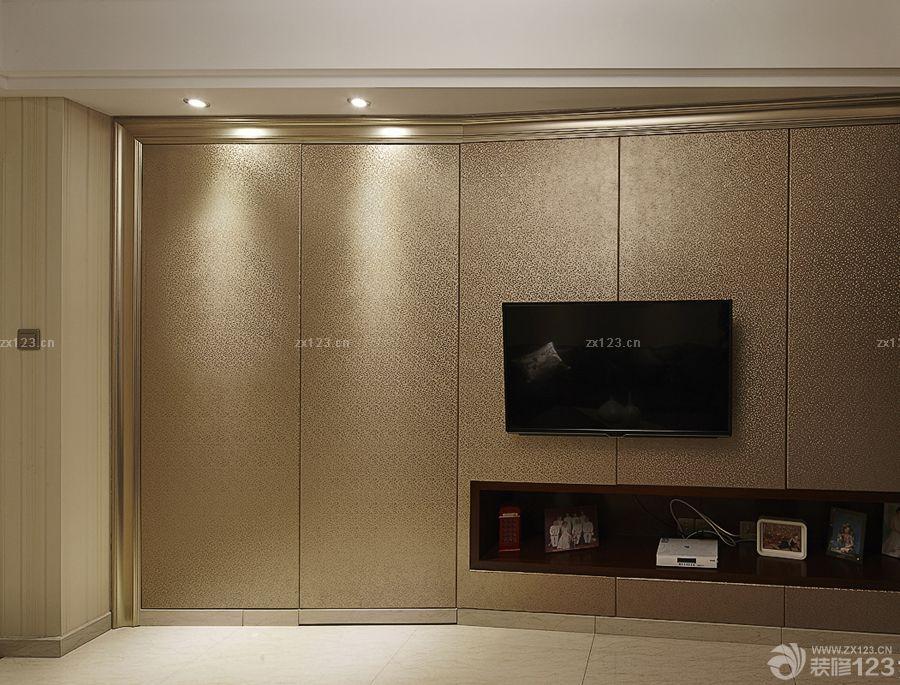 创意室内欧式风格家装隐形门设计效果图欣赏