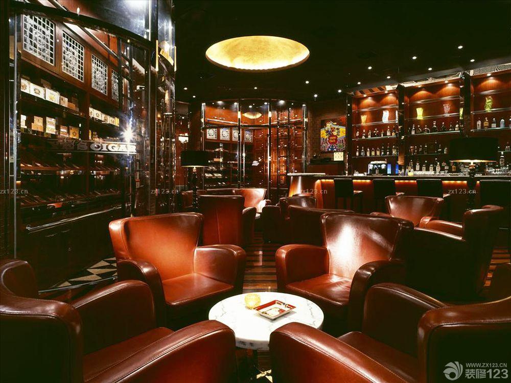 2016美式风格主题酒吧装修设计实景图