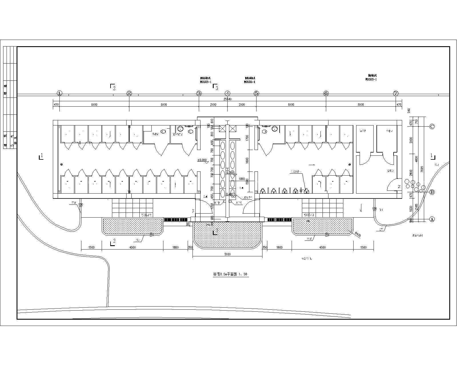 2平米卫生间平面设计图展示