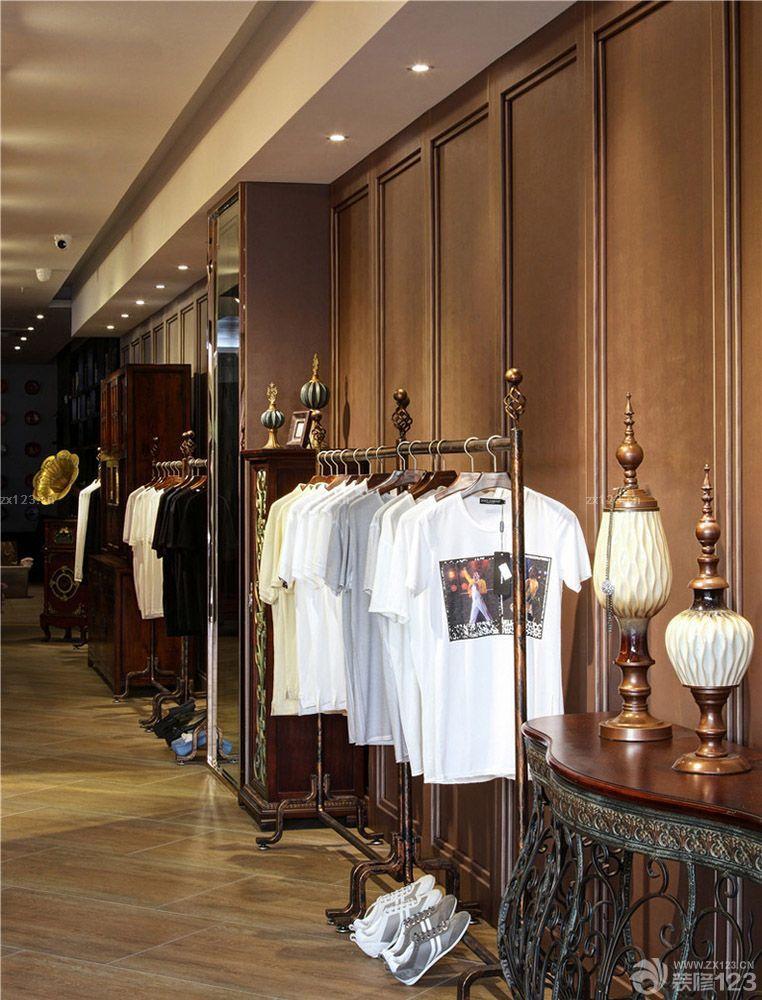 小面积最新欧式风格服装店装修图片