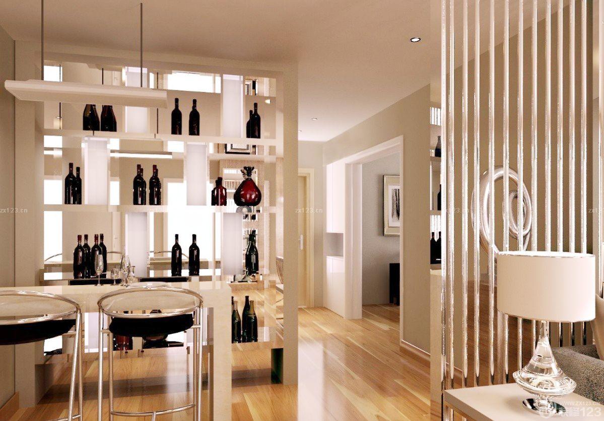 最新现代风格酒柜隔断设计效果图欣赏