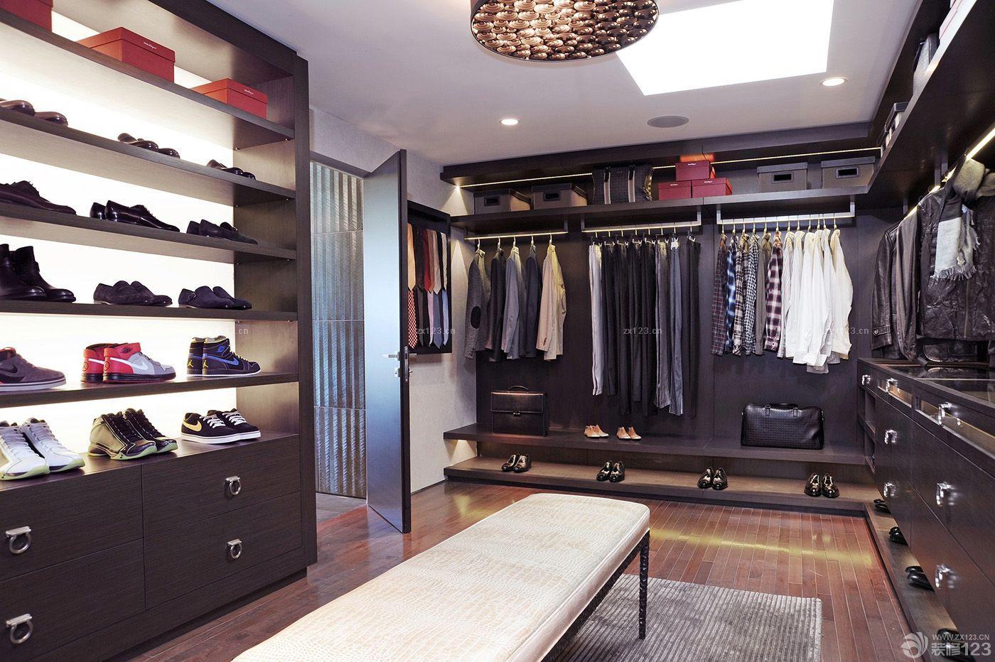 欧式服装店货柜设计效果图片大全