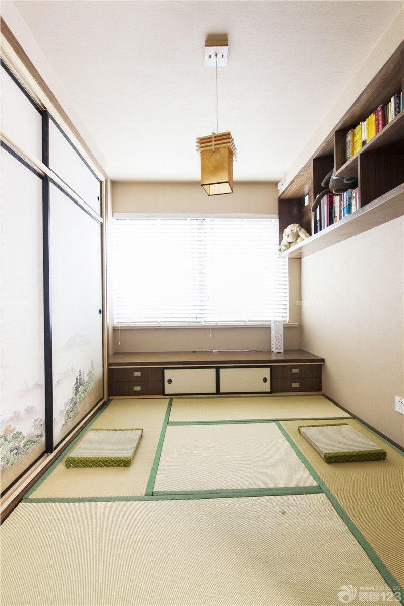 简约日式书房小书房装修图片