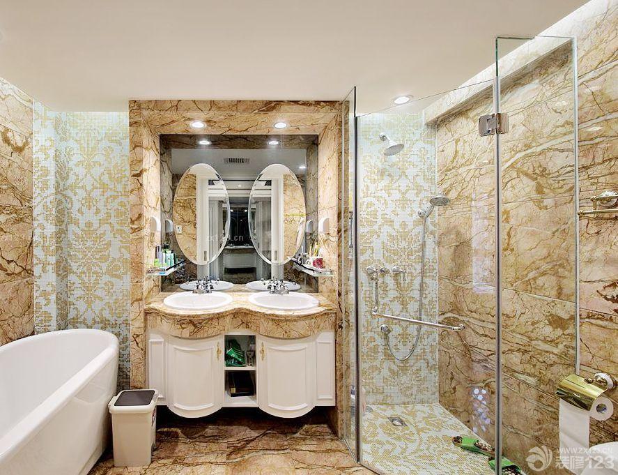 最新欧式家装浴室马赛克瓷砖贴图