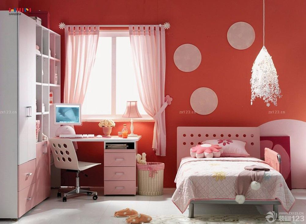 溫馨110房子裝修兒童房間布置圖片大全