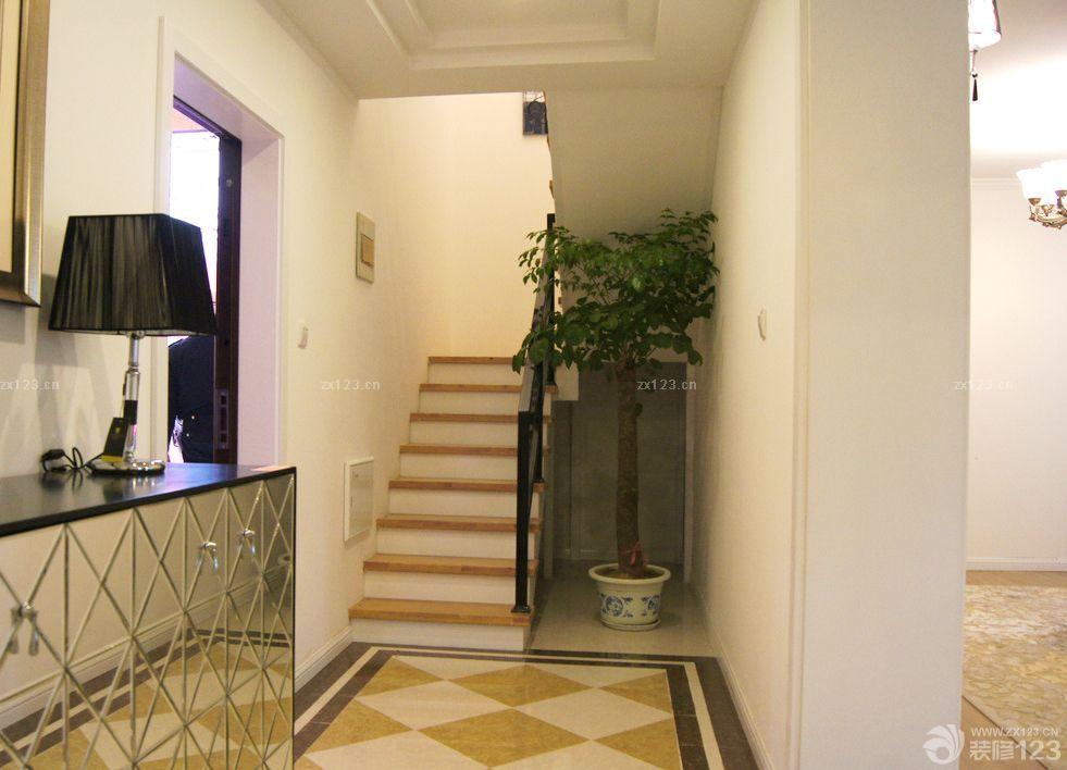 家装90平米跃层房屋楼梯设计图片欣赏