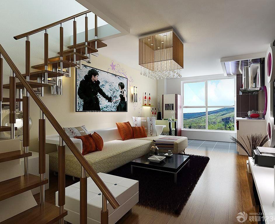 70平米跃层室内楼梯装修效果图片大全