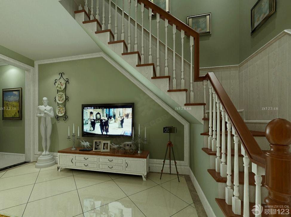 70平米跃层室内楼梯装修效果图