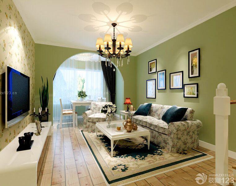 田园风格120平米房屋装修样板间大全 2016室内装修效果图 设计456